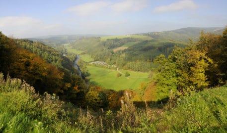 Ourthevallei in La Roche-en-Ardenne - foto: Edgard Verhasselt