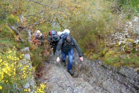 Stevig klimmen - foto: Jan Depelseneer