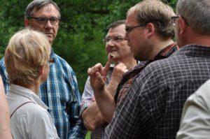 Excursie van Landschap vzw - foto: Jean-Pierre Collas