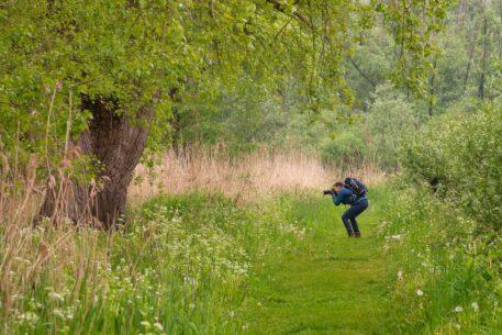 Lekker fotograferen - foto: Jan Depelseneer