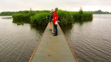 Roosterbrug op Jantjesplaat - foto: Jan Depelseneer